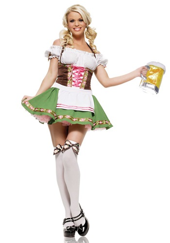 German Beer Girl Costume By: Leg Avenue for the 2015 Costume season.