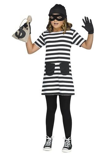 Girls Burglar Costume