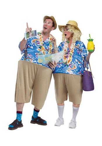 Tacky Adult Tourist Costume
