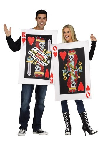 Adult King & Queen of Hearts Costume
