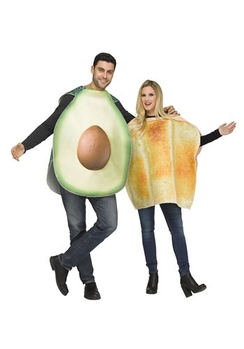 Adult Avocado & Toast Costume