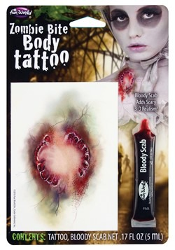 Zombie Bite Tattoo