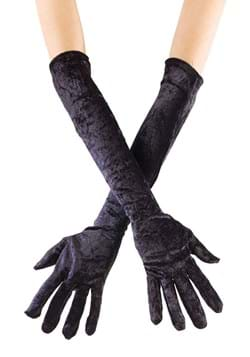 Long Black Velvet Gloves Update