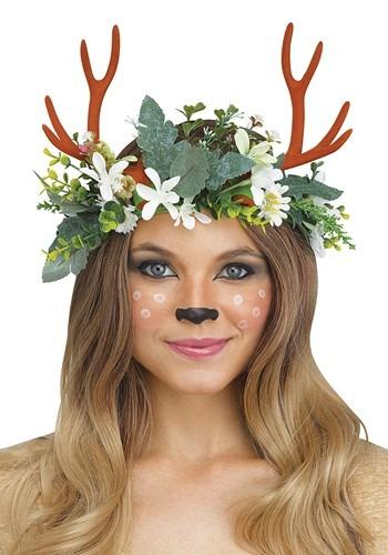 Woodland Deer Headpiece