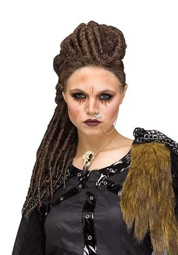 Women's Dreaded Viking Wig