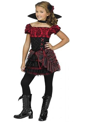 Girl's La Vampira Costume