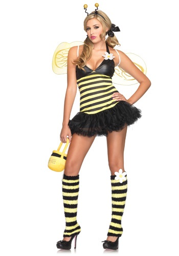 Click Here to buy Sexy Daisy Bee Costume from HalloweenCostumes, USA Funds & Shipping