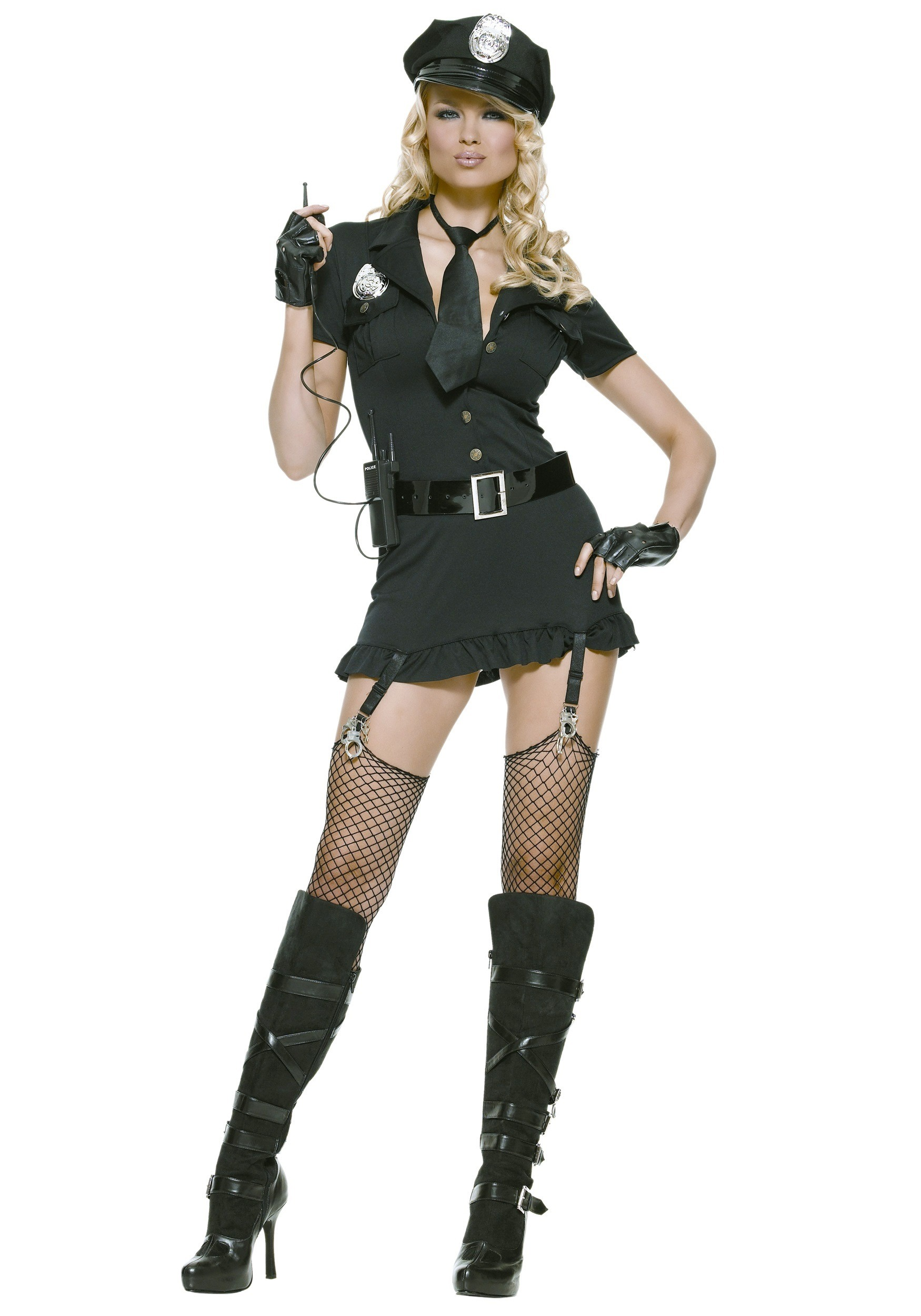 Sexy Dirty Cop Costume-4910
