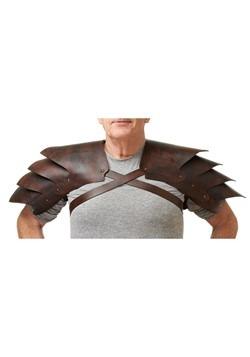 Faux Leather Shoulder Pads