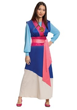 Mulan Womens Blue Dress Costume