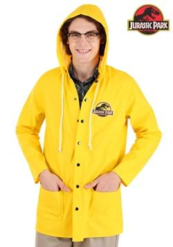 Jurassic Park Yellow Raincoat Costume