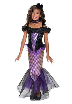 Girl's Darkest Siren Costume