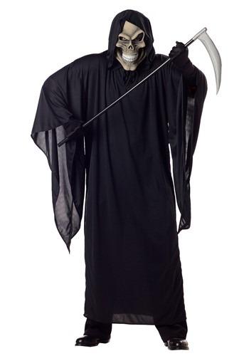 Men's Plus Size Grim Reaper Costume