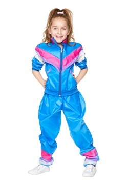 Girls Tracksuit Costume