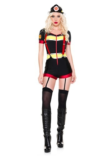 Women's Sexy Fire Captain Costume
