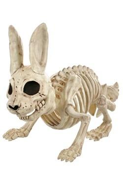 Bunny Bonez Skeleton Décor
