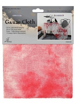 Bloody Gauze Cloth Decor