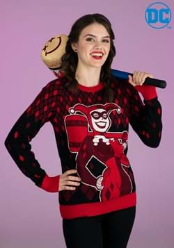 Harley Quinn Hammer Time Adult Ugly Christmas Sweater-2