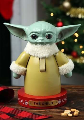 Star Wars The Mandalorian Baby Yoda Nutcracker