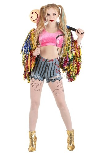 Birds of Prey Women's Premium Harley Quinn Costume Main