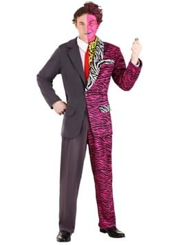Batman Forever Men's Two-Face Premium Costume Upd