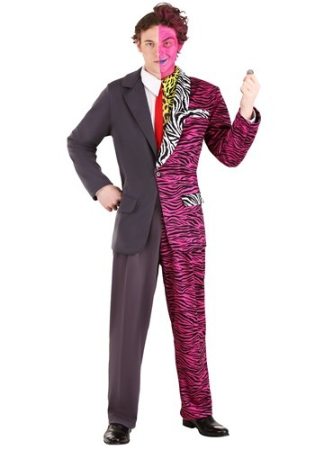 Batman Forever Men's Plus Size Two-Face Premium Costume