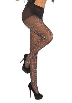 Women's Glow in the Dark Spider Tights