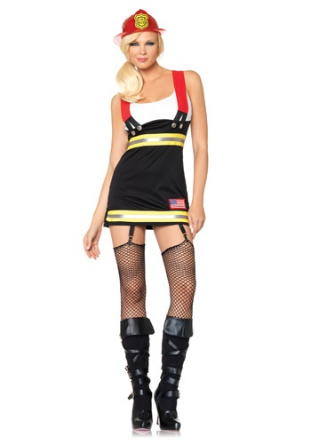 Click Here to buy Firefighter Babe Costume from HalloweenCostumes, CDN Funds