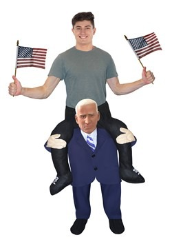 Joe Biden Piggyback Costume