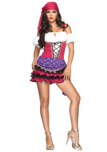 Women's Gypsy Costume By: Leg Avenue for the 2015 Costume season.