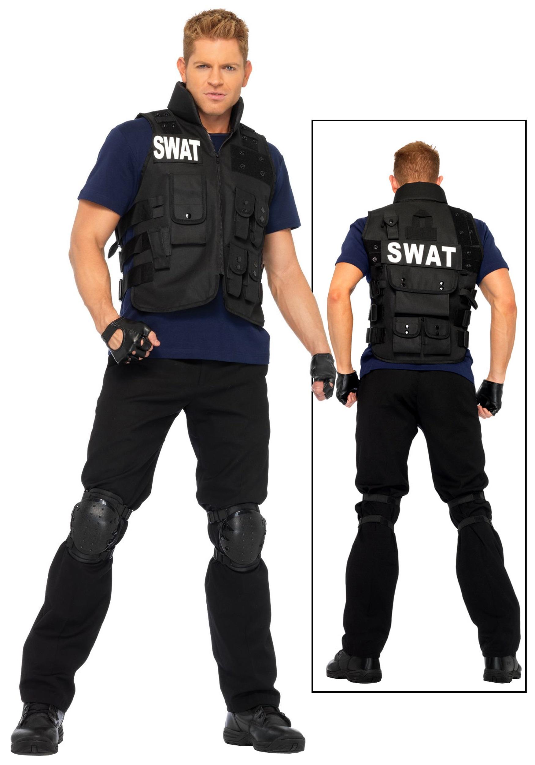 Swat Team Boots Mens Swat Team Costume
