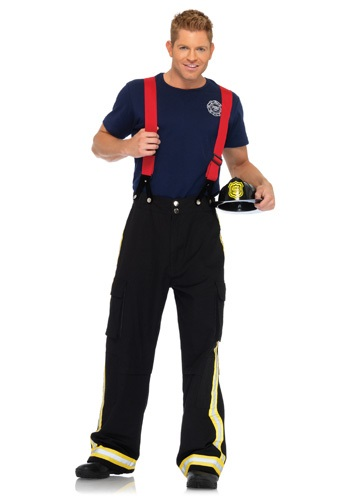 Click Here to buy Mens Fire Captain Costume from HalloweenCostumes, USA Funds & Shipping