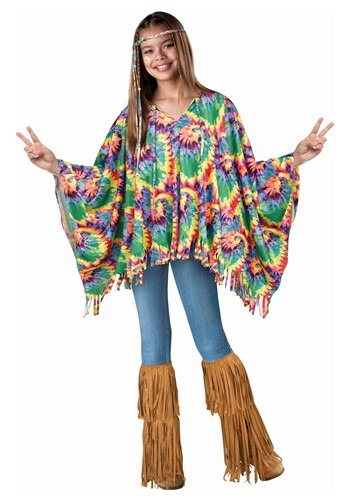 Child Hippie Poncho