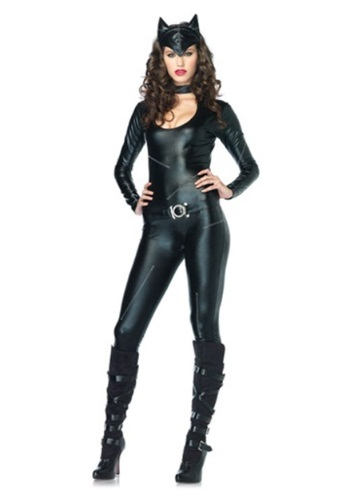 Click Here to buy Sexy Feline Catsuit Costume from HalloweenCostumes, CDN Funds