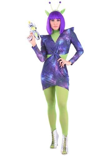 Sexy Cosmic Alien Costume