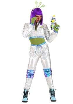 Women's Cosmonaut Alien Costume