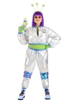 Plus Size Cosmonaut Alien Costume