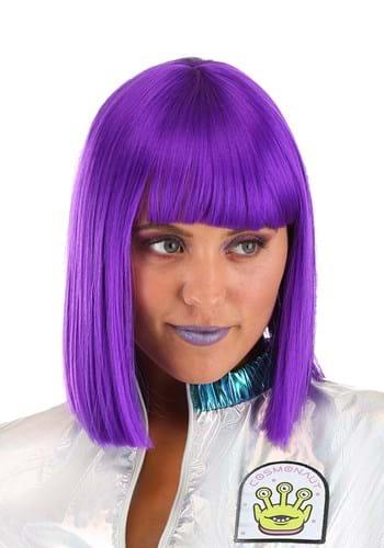 Adult Cosmic Purple Wig