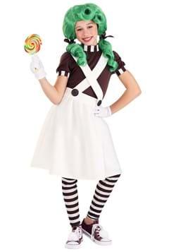 Girl's Chocolate Factory Worker Costume