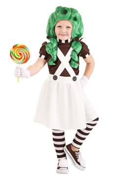 Toddler Girls Chocolate Factory Worker Costume