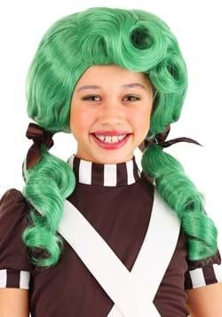 Kids Chocolate Factory Green Wig