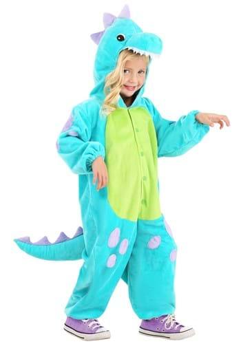 Toddler Teal Cuddlesaur Costume