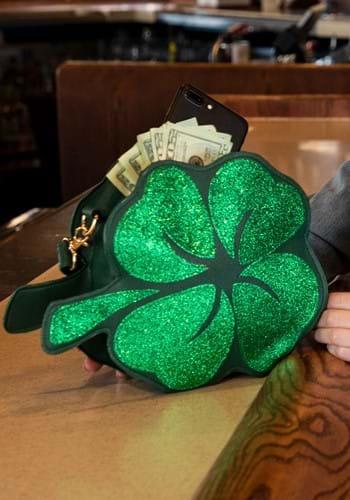 St. Patrick's Day Shamrock Purse