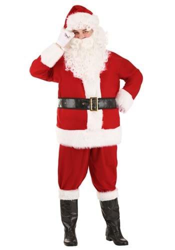 Adult Holiday Santa Claus Costume
