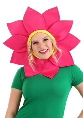 Pink Daisy Flower Headpiece