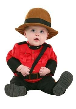Infant Canadian Mountie Costume