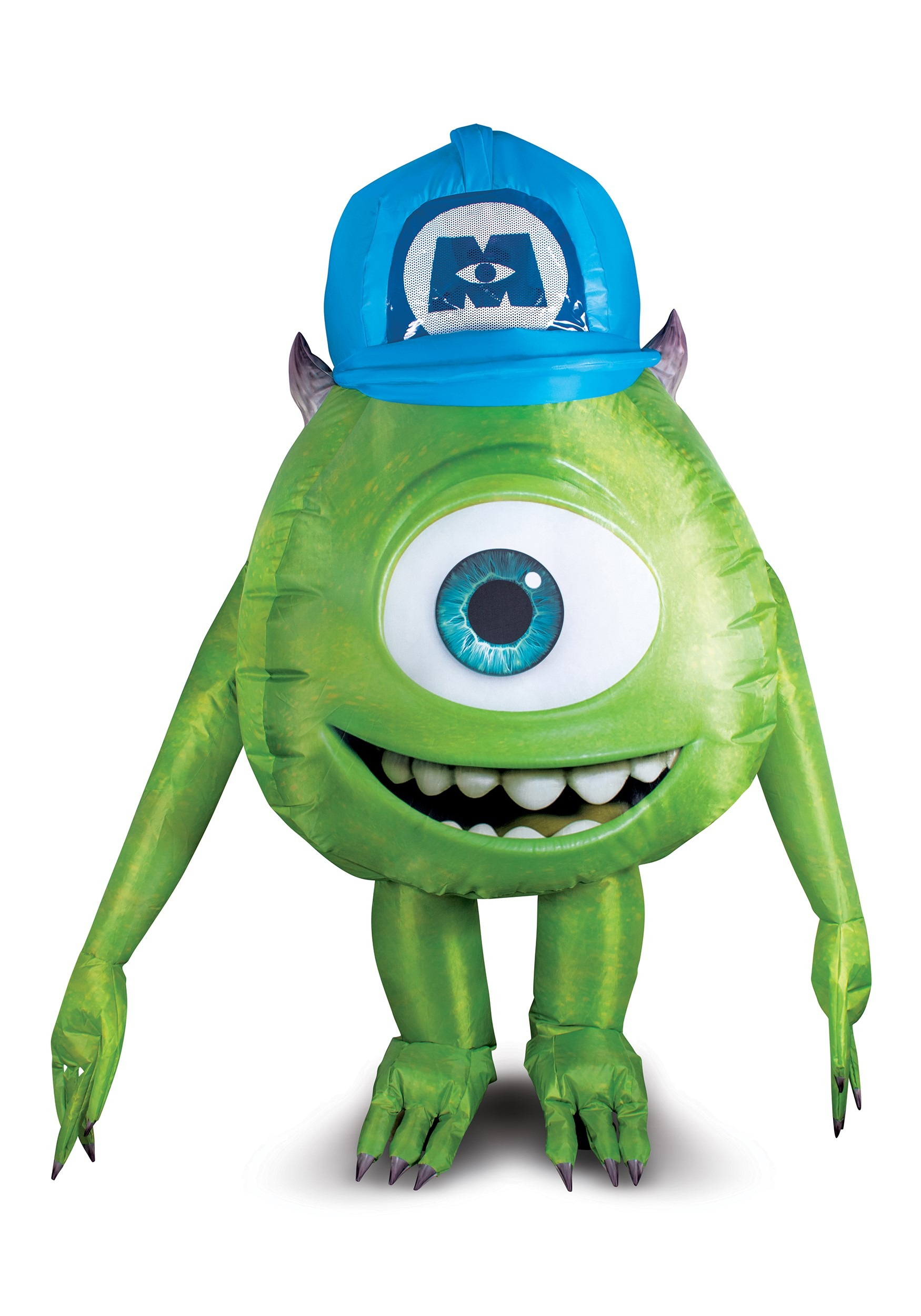 Monsters Inc Mike Wazowski Inflatable Costume For Adults