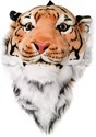 Orange Bengal Tiger Animal Head Backpack and Wall  Alt 1