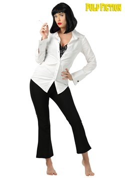 Women's Plus Size Mia Wallace Pulp Fiction Costume