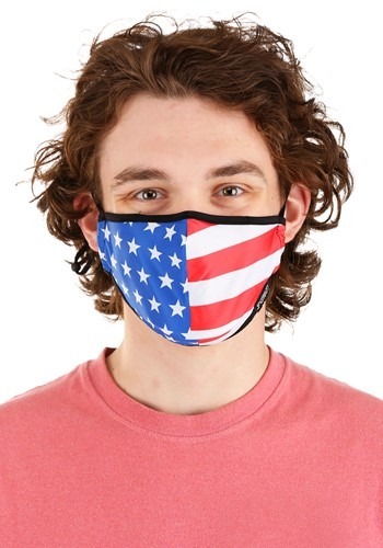 Uncle Sam Protective Fabric Face Covering Mask